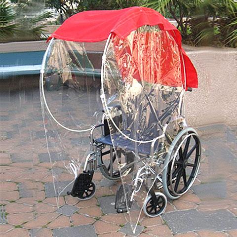 גגון לכיסאות גלגלים וקלנועיות