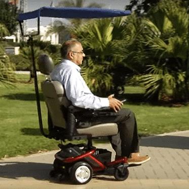 קלנועיות - כסאות גלגלים ממונעים